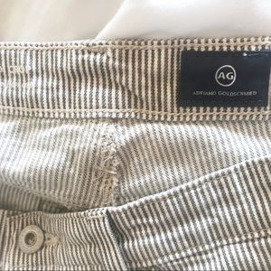 Anthropologie Jeans - AG Jeans High Waist Jodi Stripe Crop Size 28